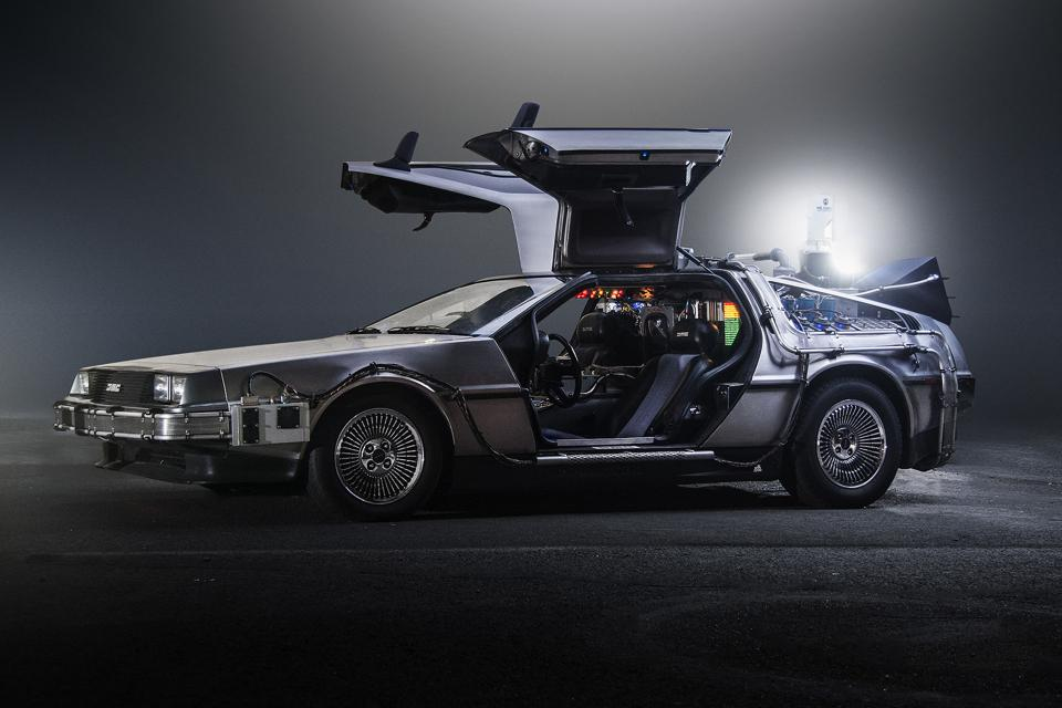 Back from the Future car