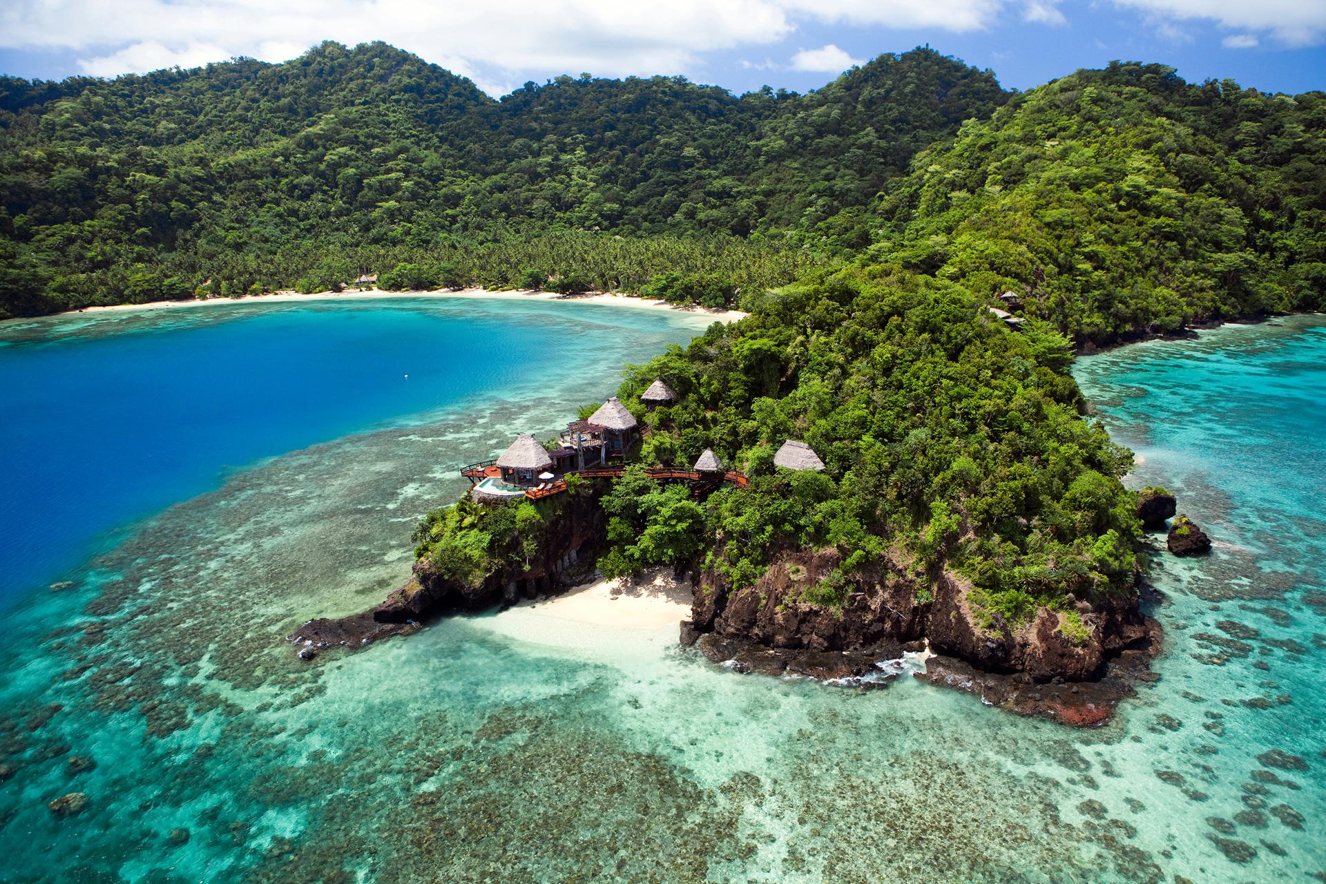 The World's Most Spectacular Private Island Escapes