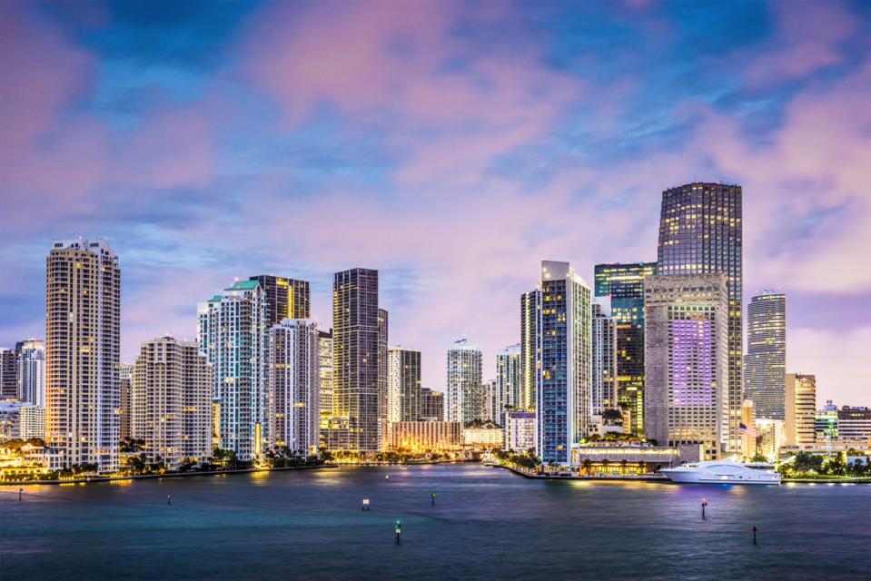 Brickell Skyline Miami