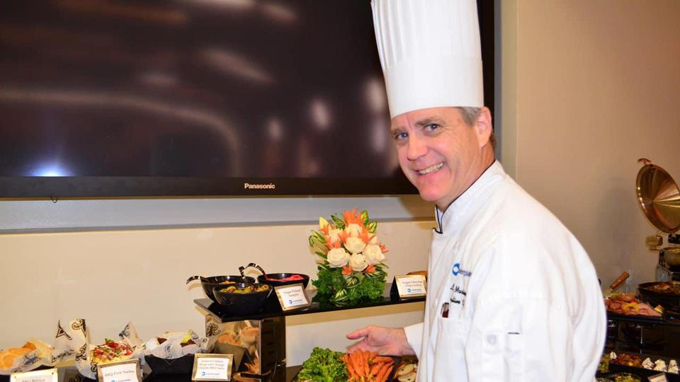 Lenny Martinsen has been the executive chef at the Superdome since 2007.
