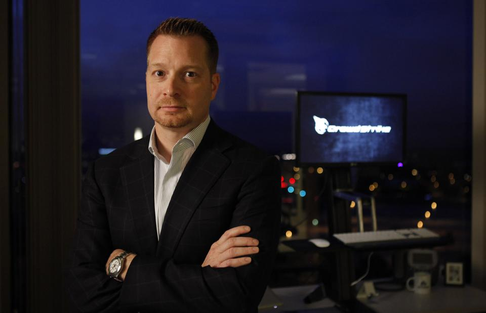 CrowdStrike's billionaire CEO George Kurtz.