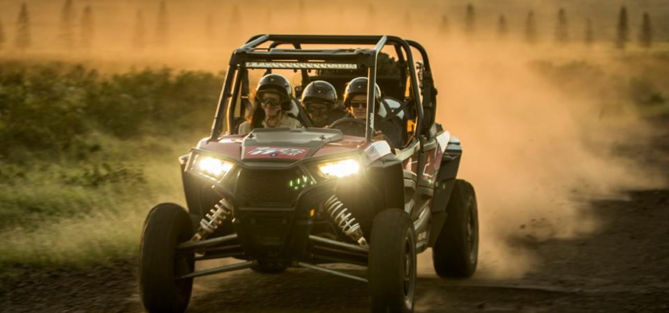 ATV rides through Lania