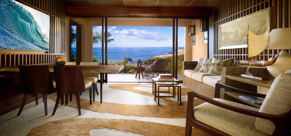A Four Seasons Lanai suite