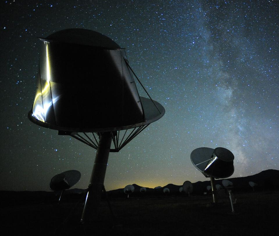 The Allen Telescope Array in Hat Creek, Calif.