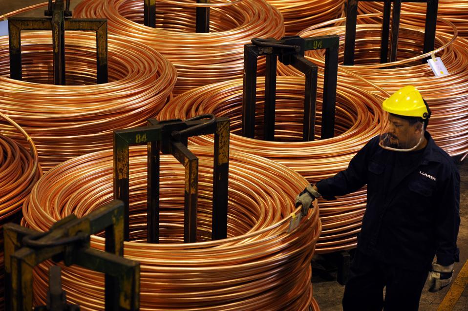 Inside A Luvata Malaysia Bhd. Copper Facility