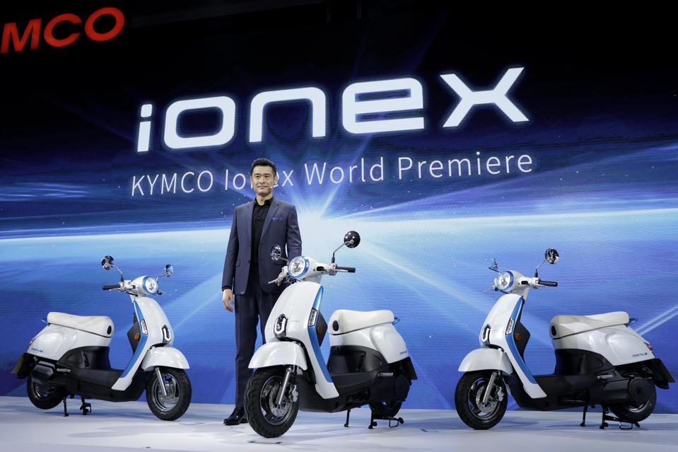 llen Ko, chairman of Kwang Yang Motor Co. (Kymco).