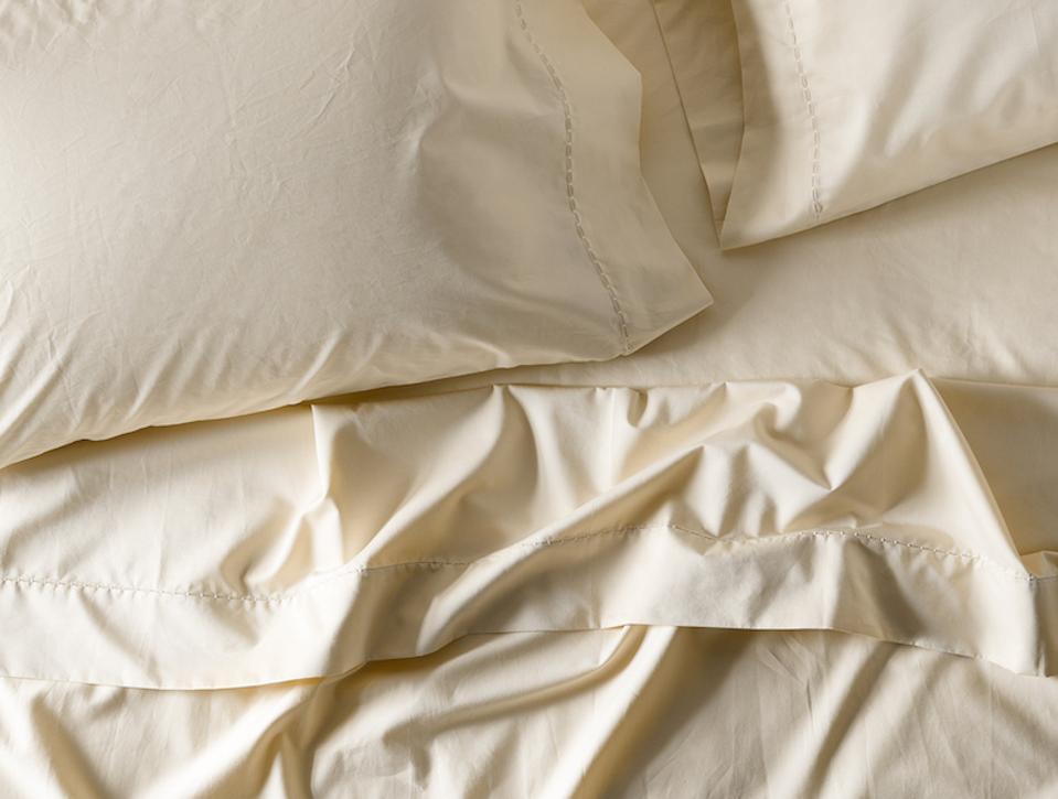 Coyuchi sateen sheets