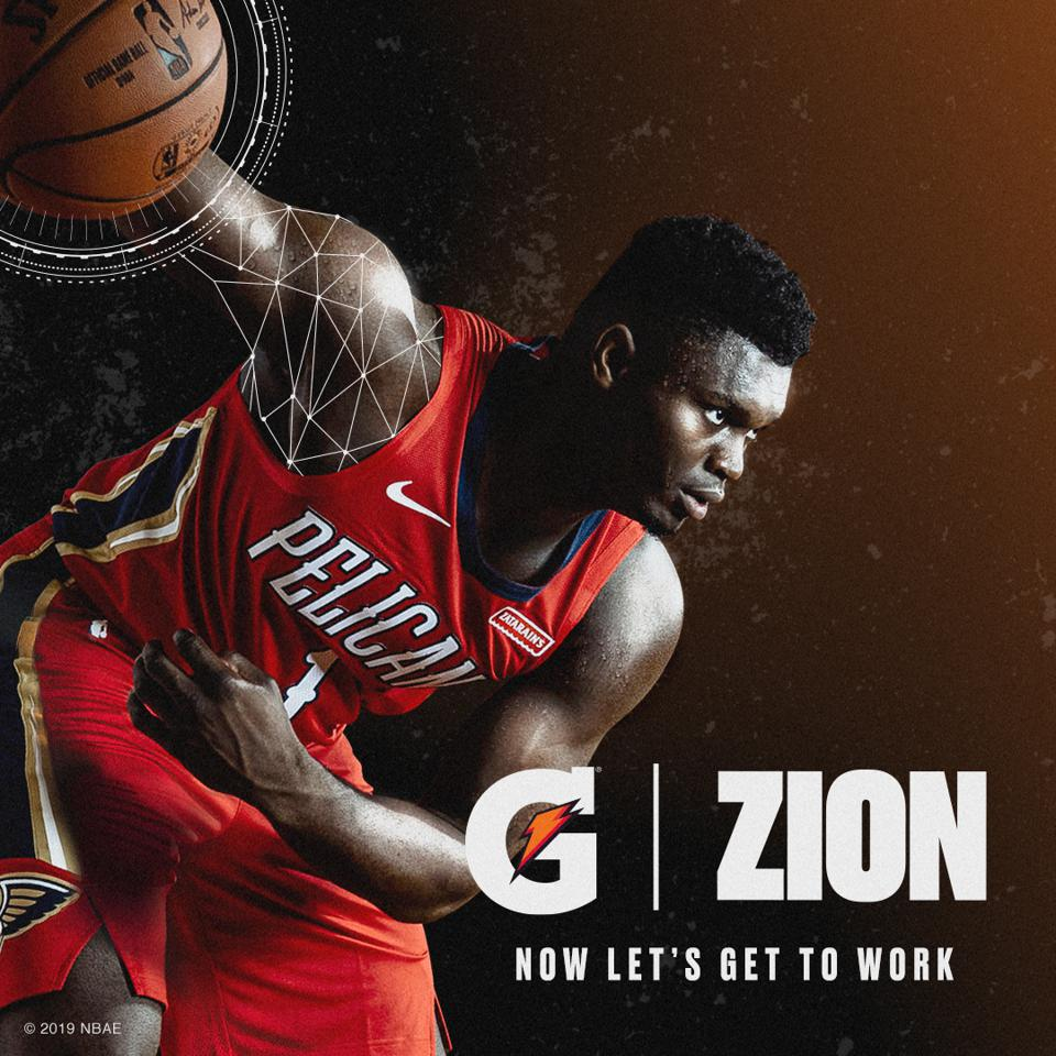 Exclusive: Gatorade Signs Zion Williamson To Its ...