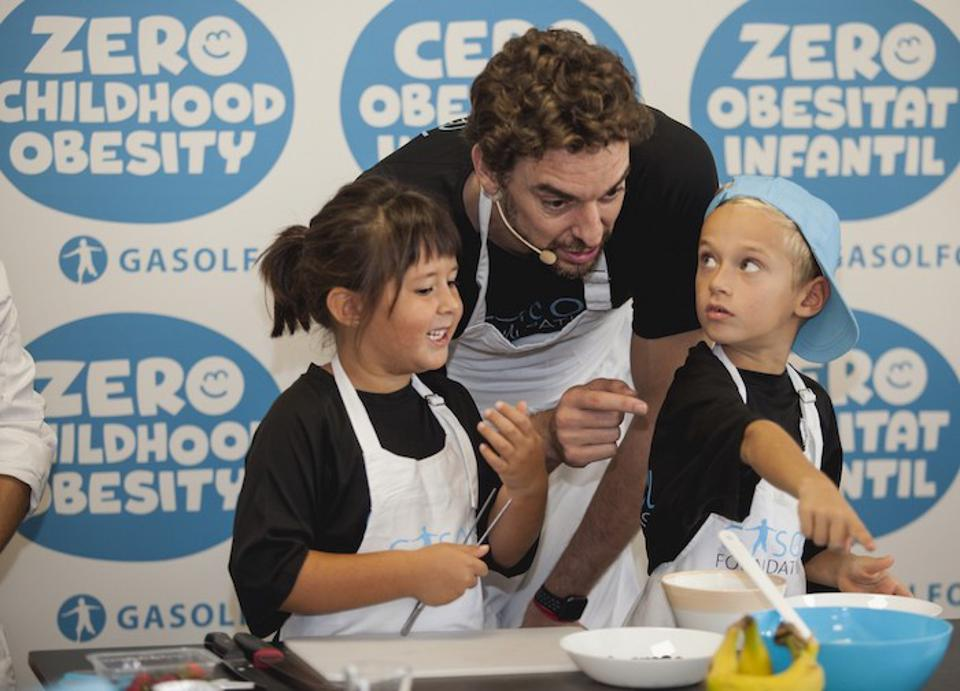 A UNICEF Spain Ambassador since 2003, Portland Trail Blazer Pau Gasol has been appointed a Global Champion for Nutrition and Zero Childhood Obesity by UNICEF.