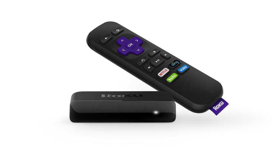 Roku Express HD with remote.