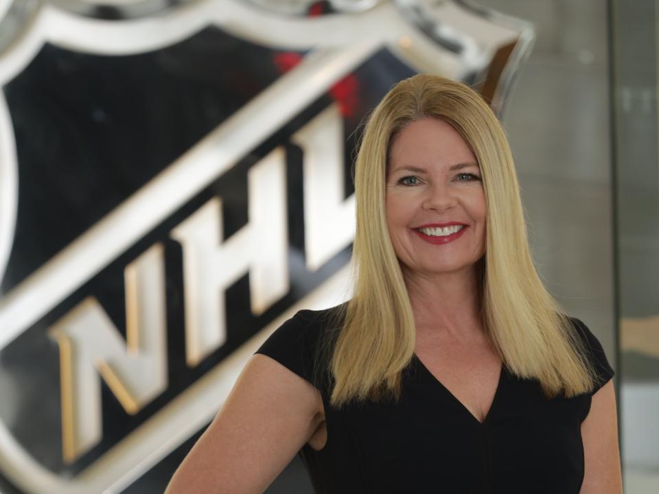 NHL CMO Heidi Browning