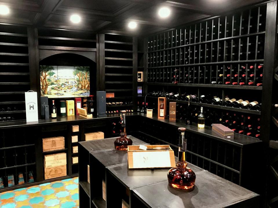 Modern wine cellars are trending in home design.