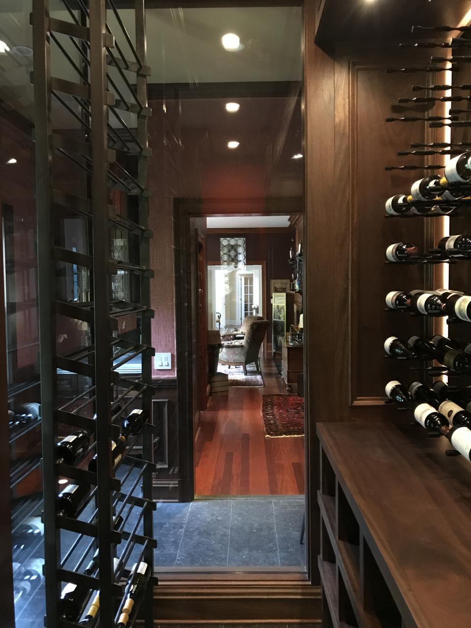 Wine cellars are no longer underground