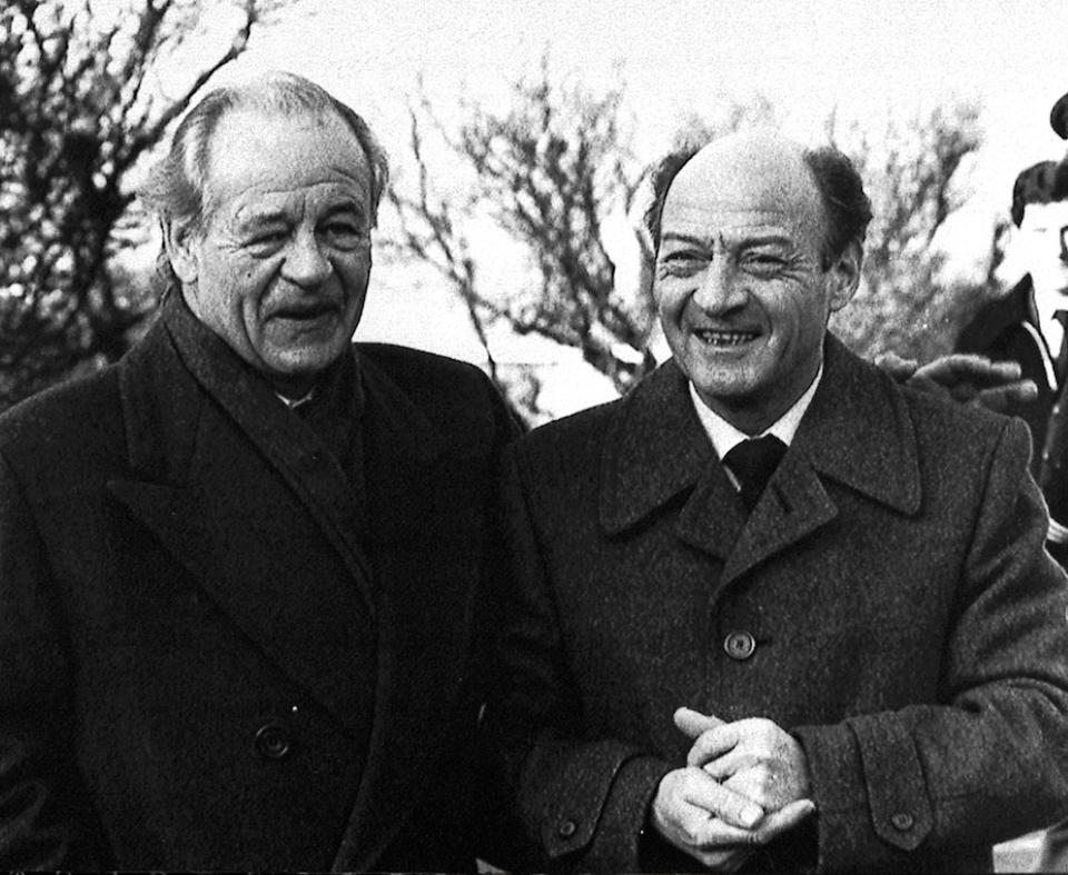 Freddy Heineken and limo driver
