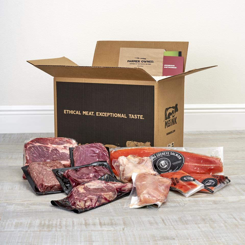 Moink sells meat direct from the farm to the customer.