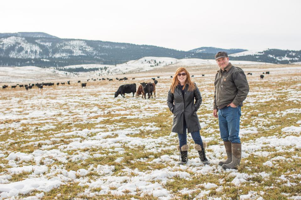 The Mannix Family Ranch in Montana supplies beef to Moink.