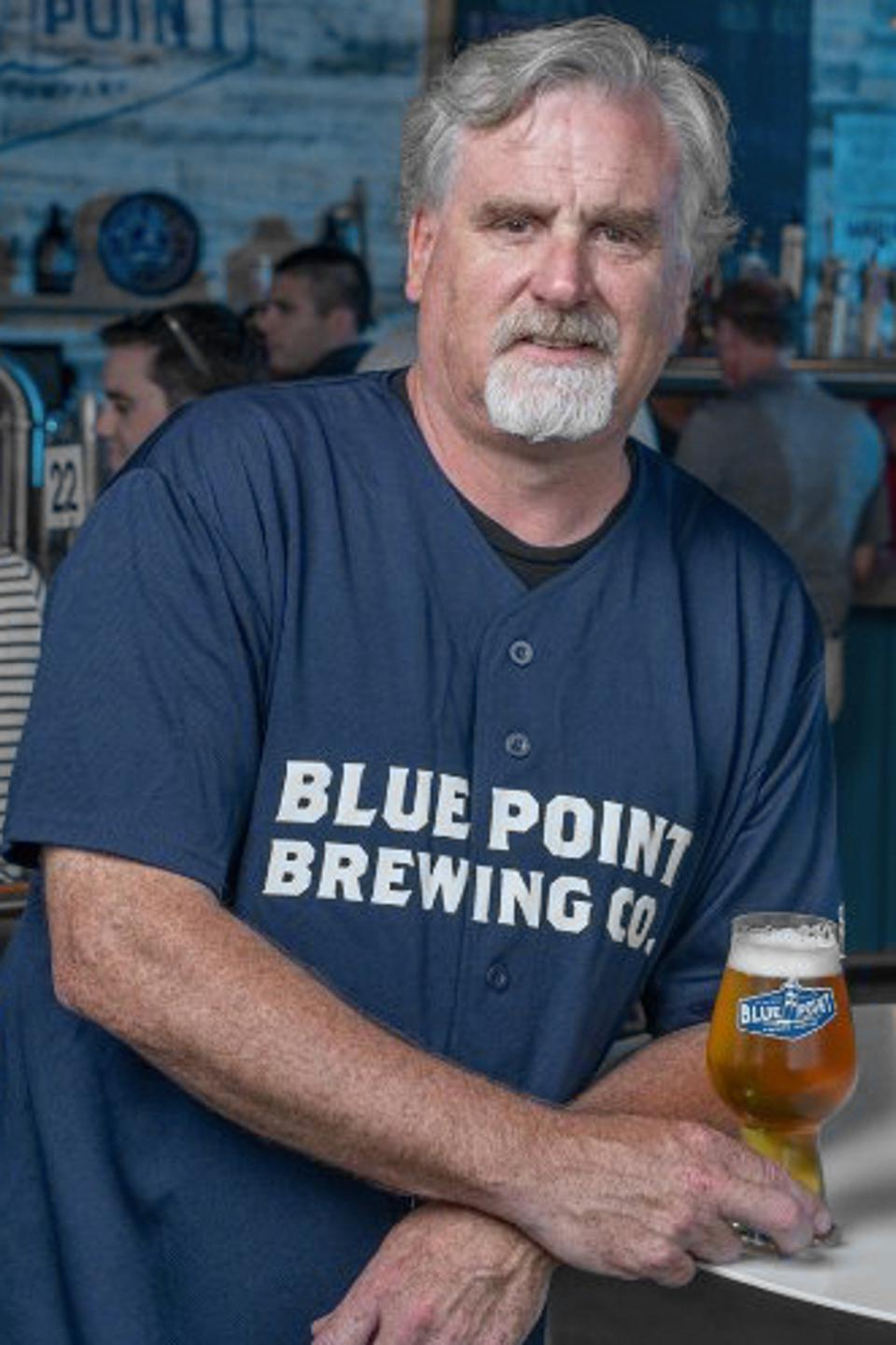 Mark Burford is the founder of Blue Point Brewing Company on Long Island.