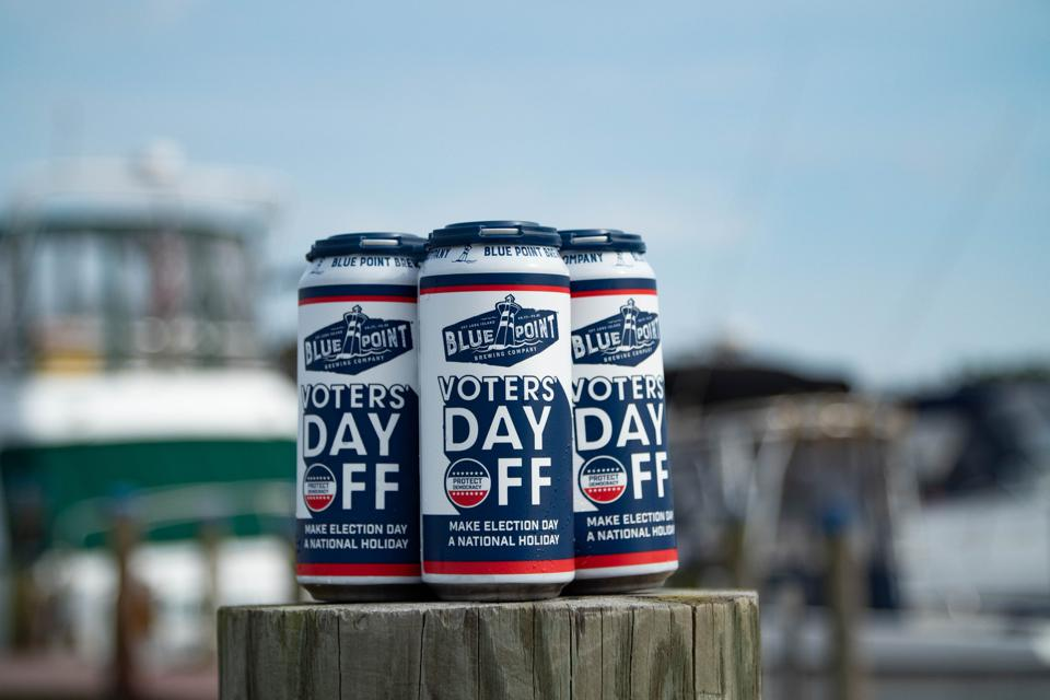 Blue Point Brewing Company believes Election Day should be a national holiday.