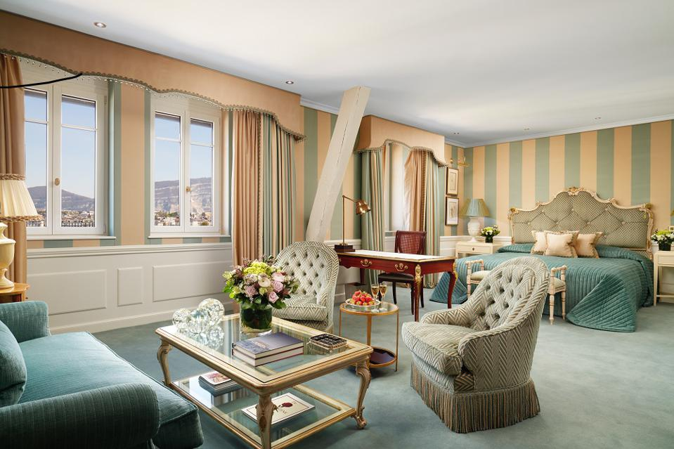 Junior Suite at the Hotel d'Angleterre