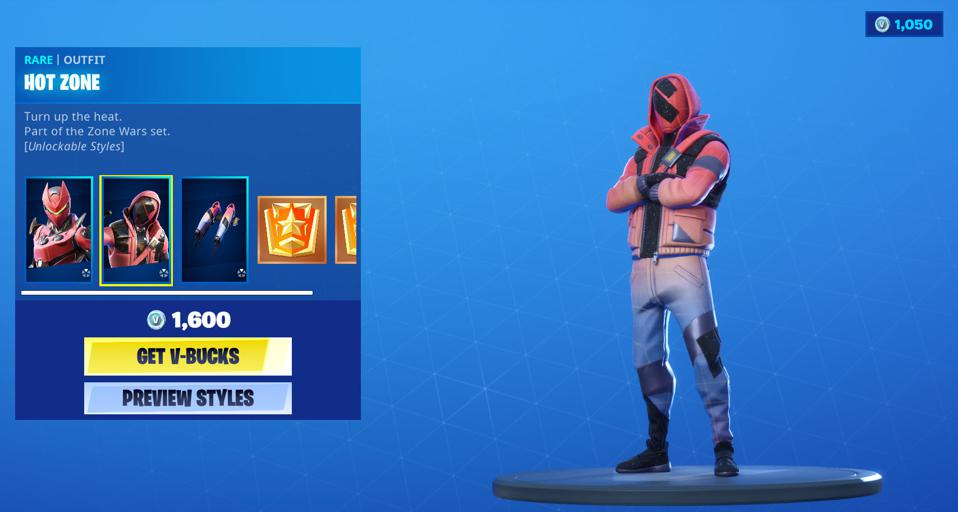 Here Are All The Fortnite Zone Wars Challenges And Rewards