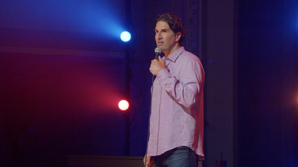 Gary Gulman performs in 'The Great Depresh' on HBO.