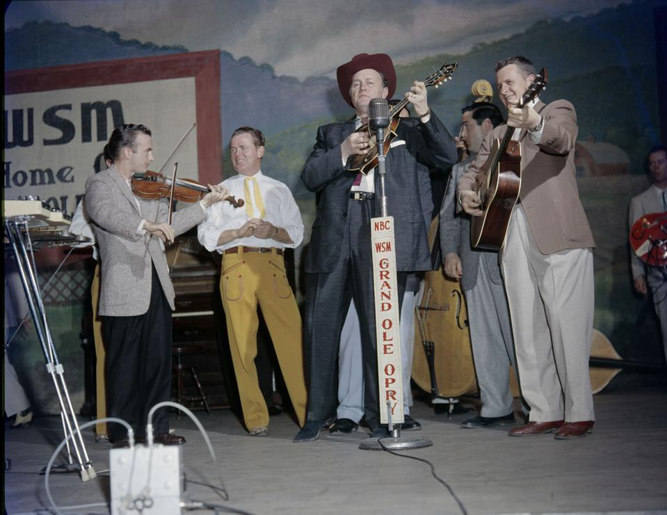 Bluegrass Artist Bill Monroe
