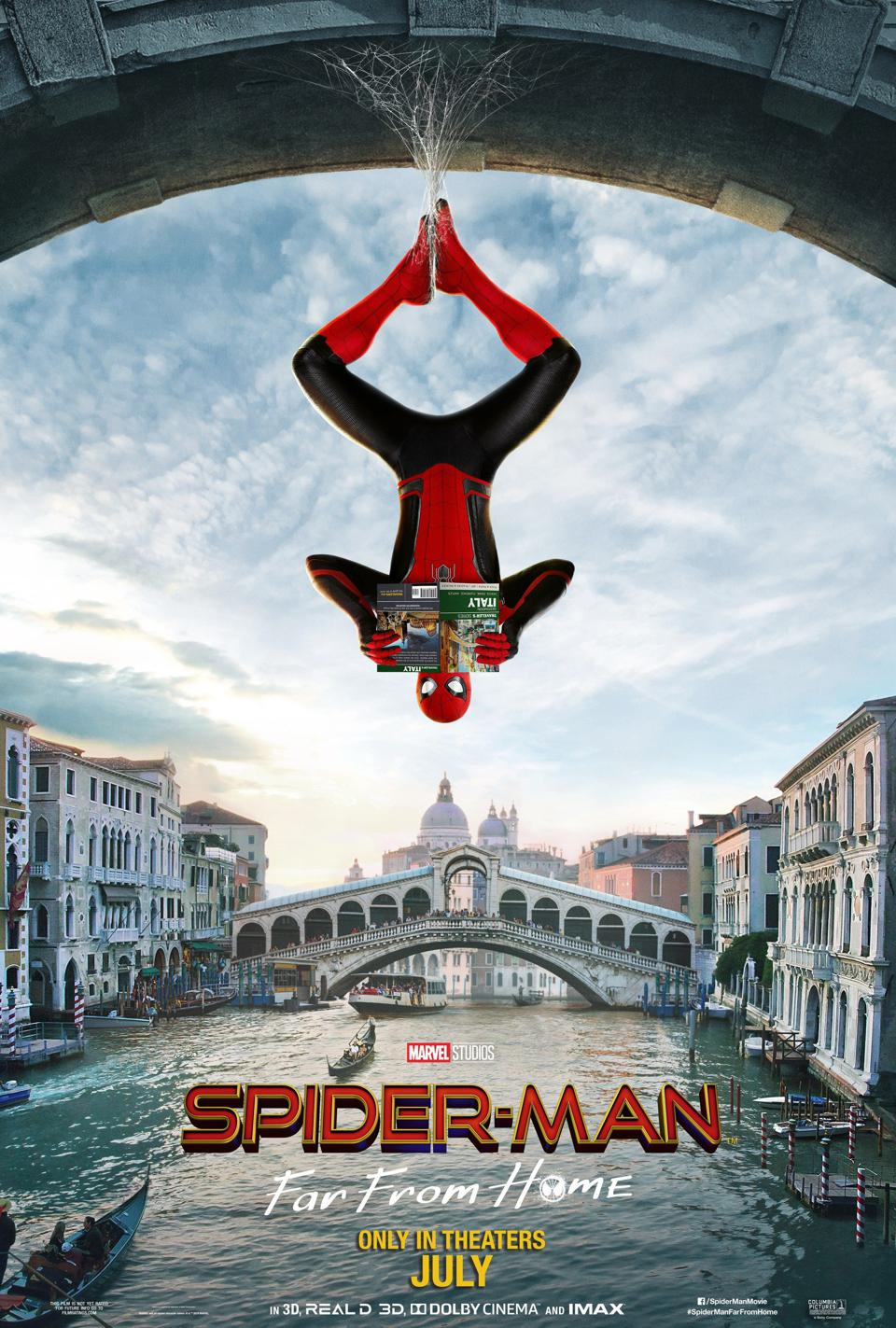 Official poster for ″ Spider-Man: Far From Home ″
