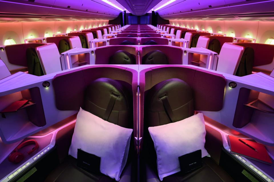 Report From The Air: Virgin Atlantic's New Upper Class Service