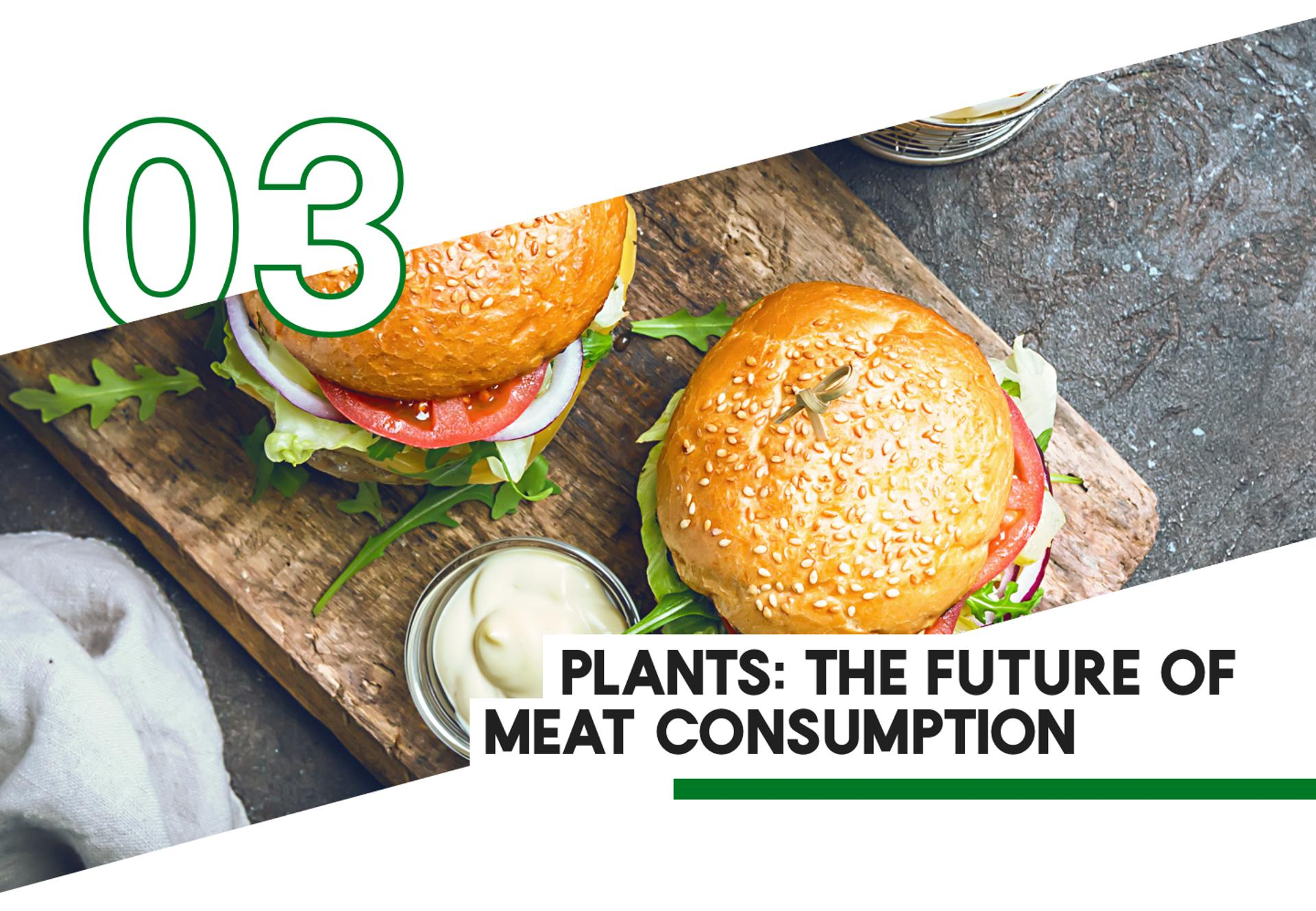 3 Plants: The Future of Meat Consumption
