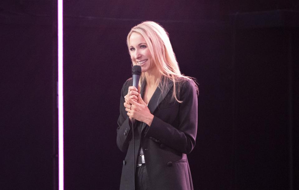Nikki Glaser performs in 'Bangin' on Netflix.