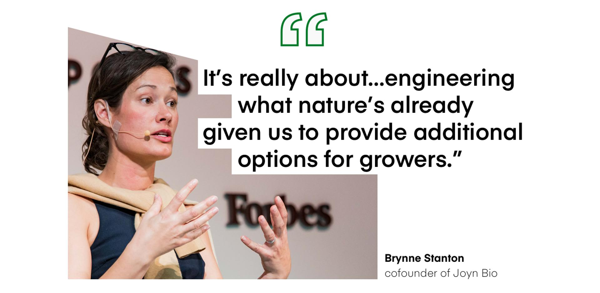 ″It's really about…engineering what nature's already 