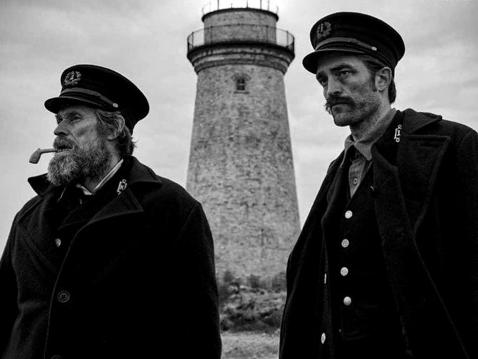Willem Dafoe and Robert Pattinson star in A24's ″The Lighthouse″
