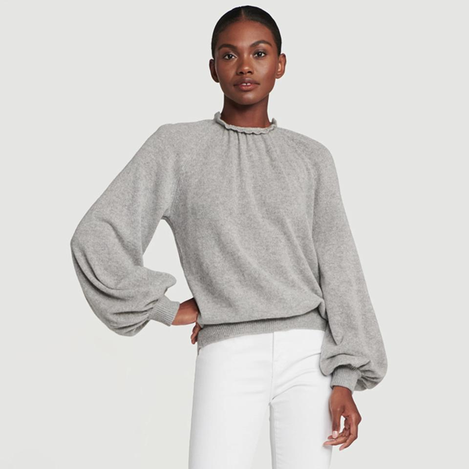 Frame Sustainable Cashmere Femme Tissue Sweatshirt