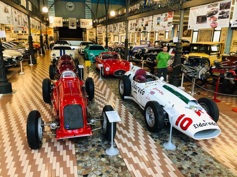The Panini Museum houses over 20 Maserati classic cars.