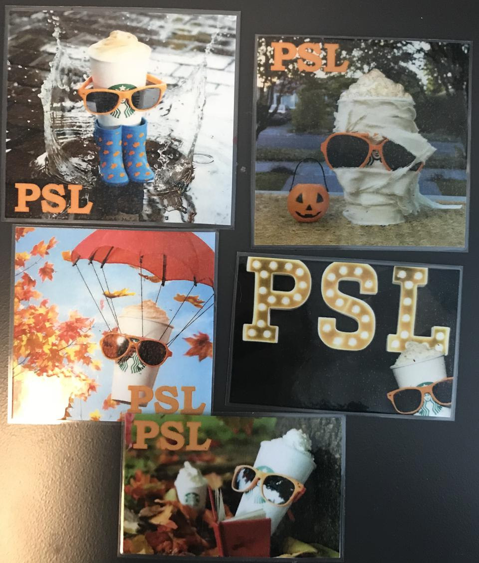 ″PSL″ (Personal Sick Leave) Magnets