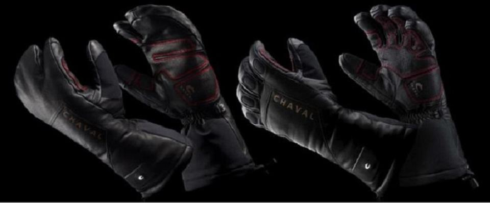 Chaval heated gloves