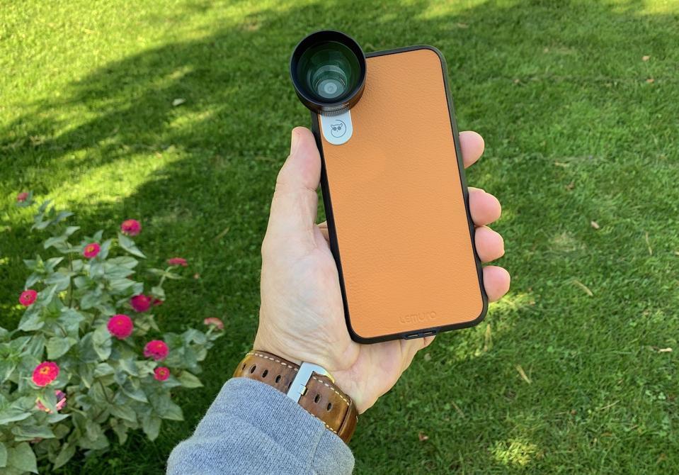 Lemuro iPhone lens review