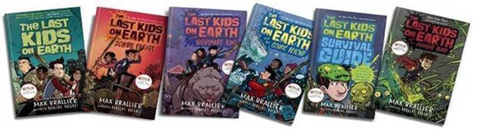 Bestselling children's book author Max Brallier has a new series out on Netflix. It's named ″The Last Kids On Earth.″ Mark Hamill and Rosario Dawson star.