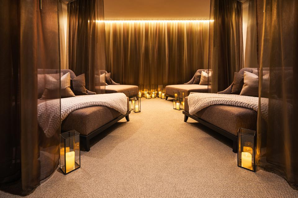 The Aura Relaxation Lounge at Anda Spa