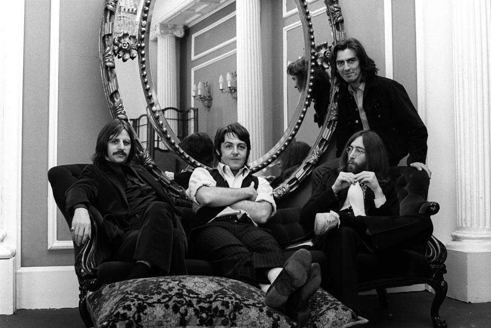 The Beatles, Twickenham Film Studios, 9th April 1969