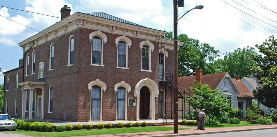 A brick building in Germantown