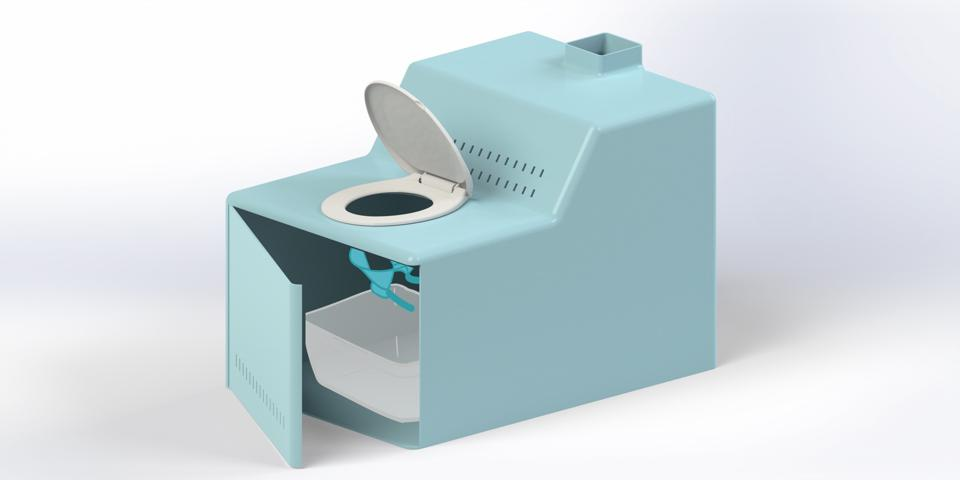 ithrone rendering toilet