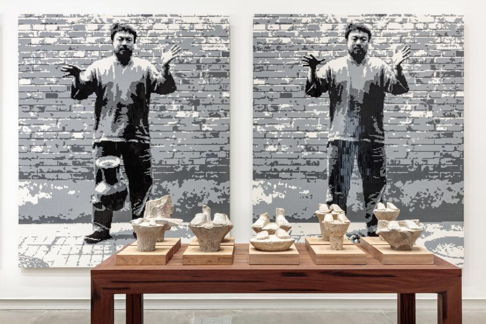 'Ai Weiwei: Bare Life' installation photo at Kemper Art Museum.