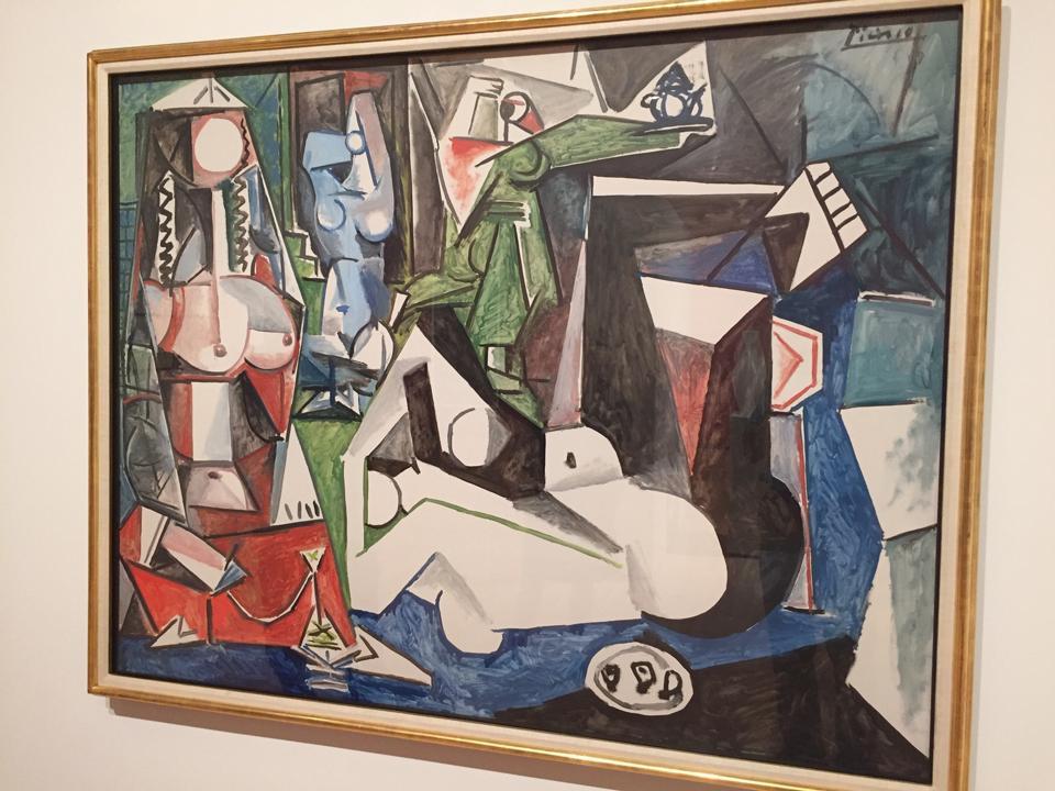 Pablo Picasso, 'Les femmes d'Alger (Women of Algiers)', 1955. Washington University purchase, Steinberg Fund, 1960.