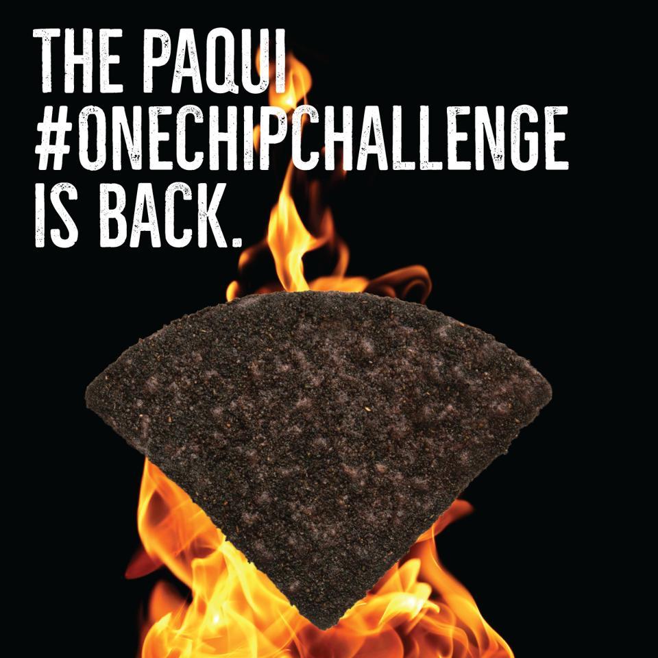 paqui one chip challenge tortilla