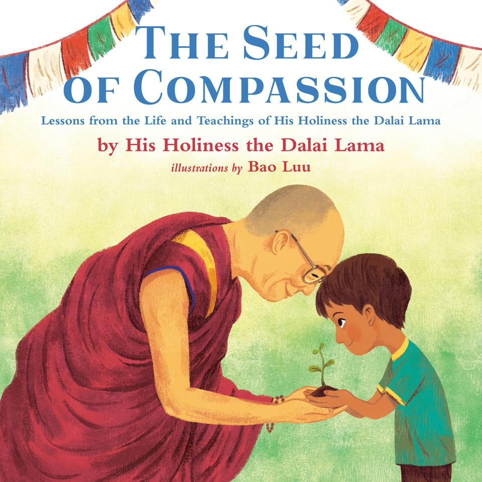 seed of compassion dalai lama tenzin gyatsu children's book bao luu tibetan buddhist monk