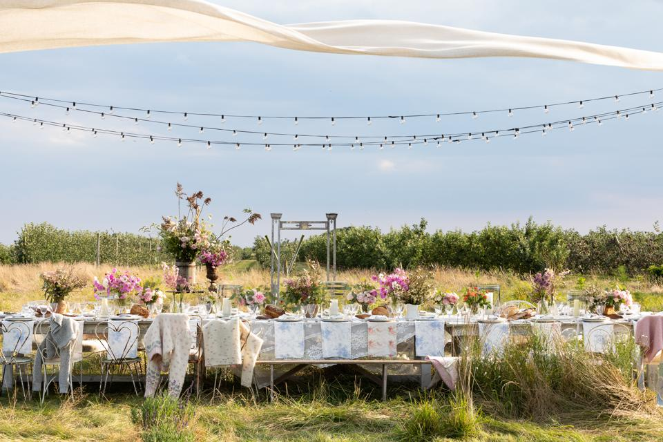 LoveShackFancy was born at Rebecca Cohen's wedding held at her family summer home in Watermill.