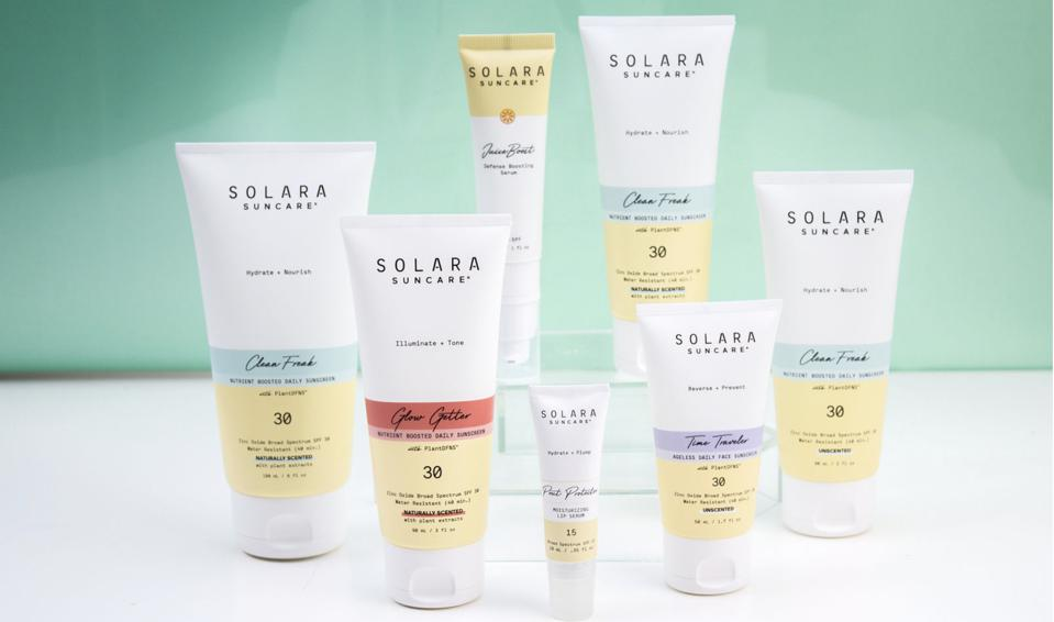 Clean and Supercharged Sun Care from Solara