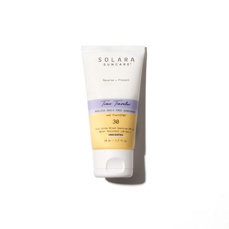 Time Traveller Ageless Daily Face Sunscreen by SOLARA Suncare