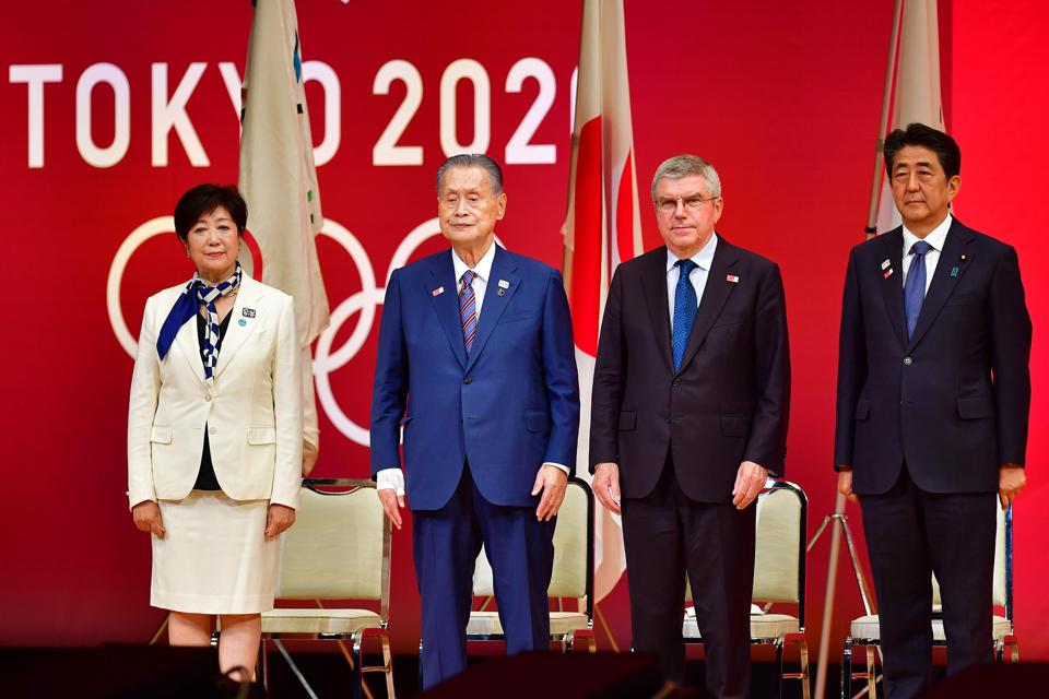 The Tokyo 2020 Olympic Games ″One Year To Go″ ceremony.